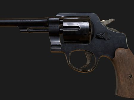 WW1 Smith and Wesson Revolver