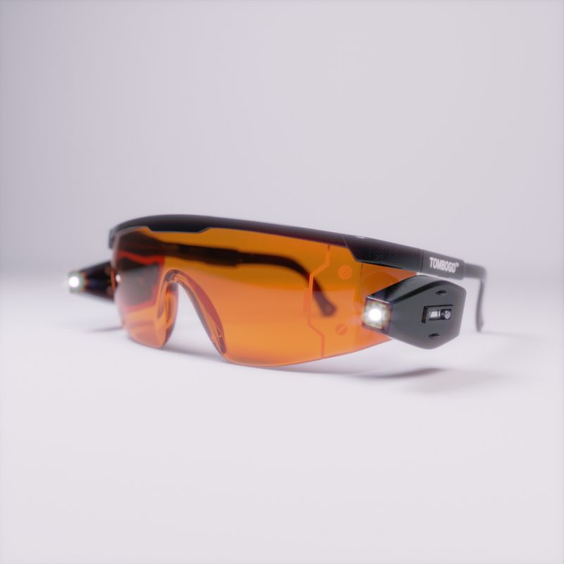 Tombogo LED Scouter Glasses
