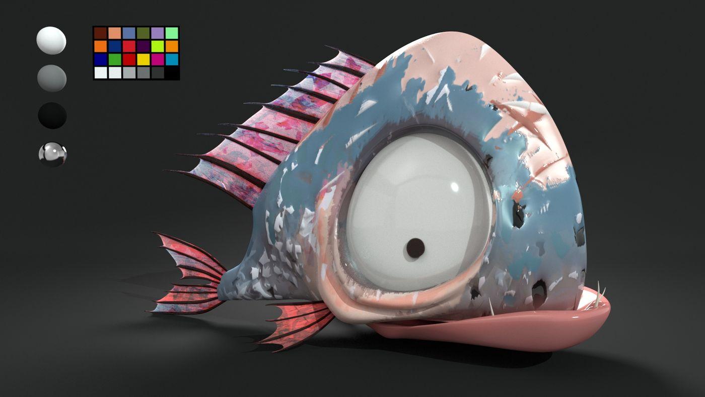 Legend Fish Benjaminfrancois