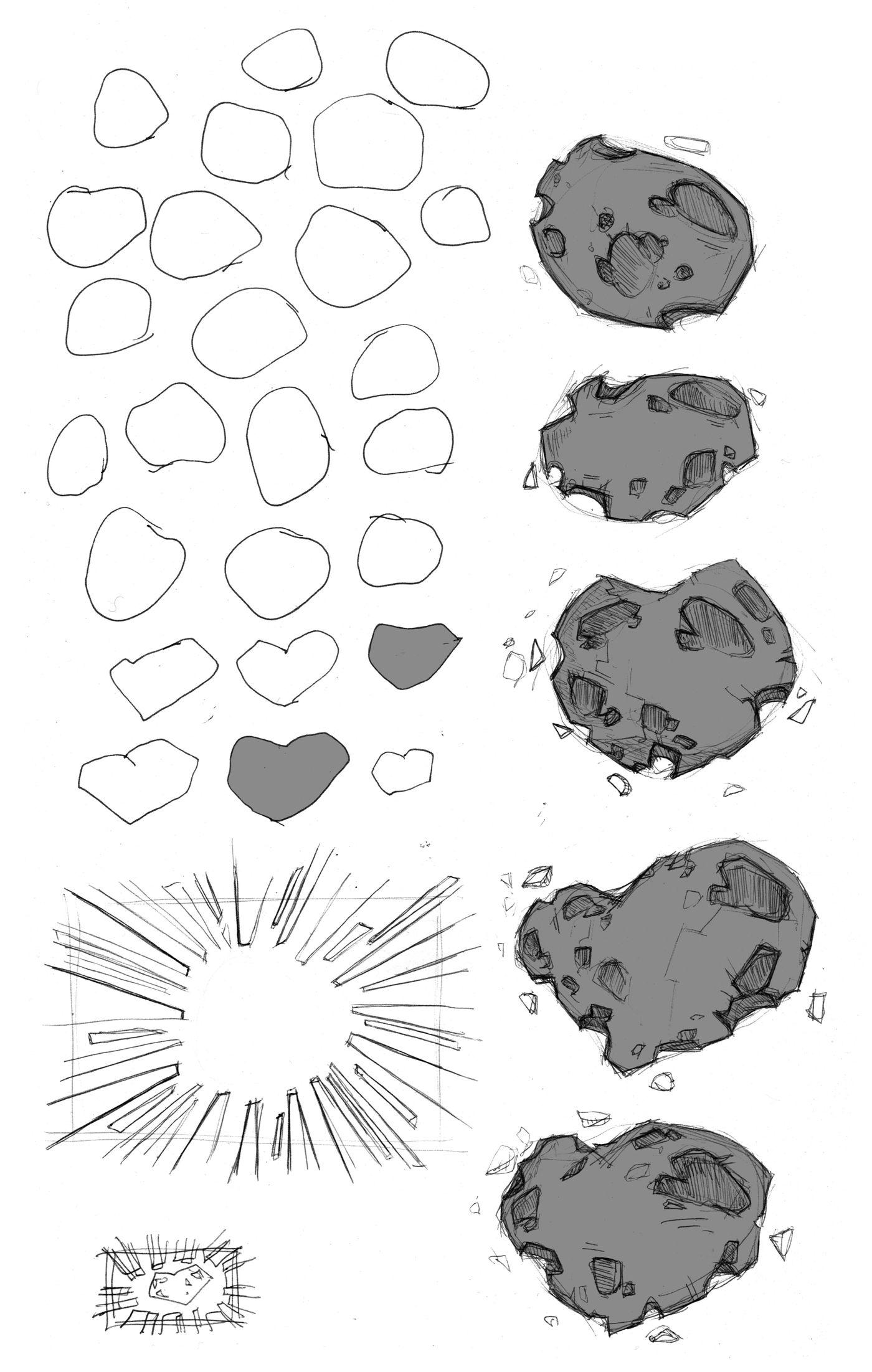 Meteore Sketch Grey Benjaminfrancois