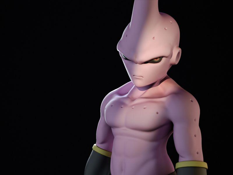 Angry Kid Buu Sculpt