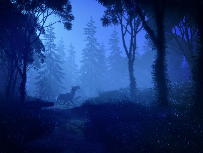 Mystery Forest - 3D Environment