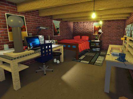 An engineer's basement - Roblox