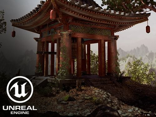 Japanese Bell Tower UE4