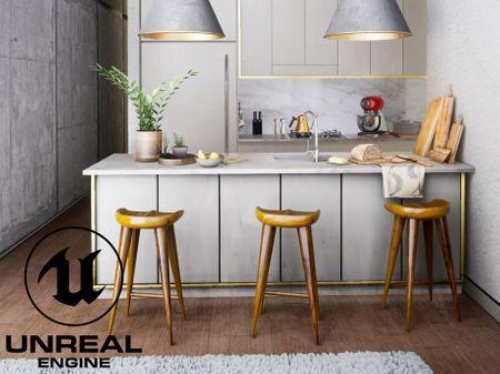 Kitchen visualization — Unreal Engine 4