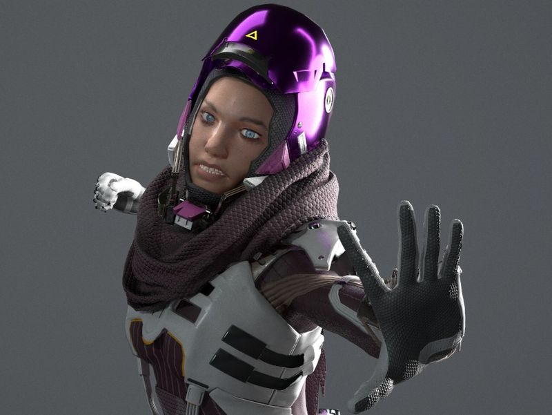 Wraith Voidwalker recreation - Apex Legends