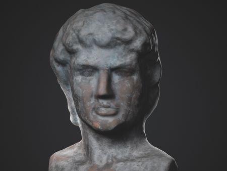 David Statue Bust - 3D scan