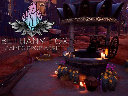 Bethany Fox Games Prop Artist