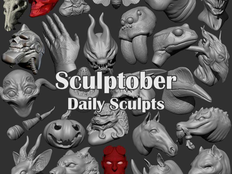 Sculptober 2019