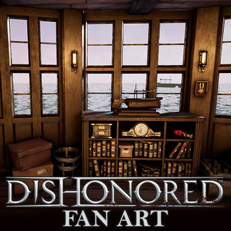 WIP Dishonored Ship Interior