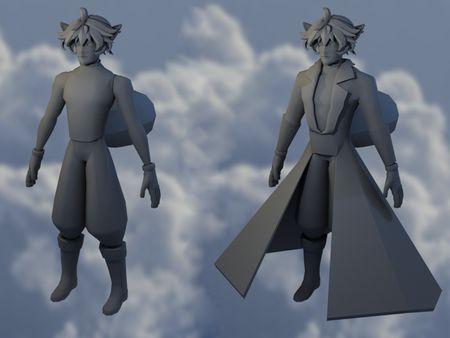 Character Model: Full-Body Mesh
