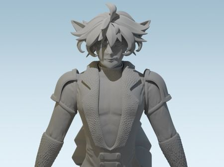 3D Character: Sculpting in Details