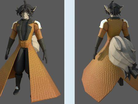 3D Character: Texture