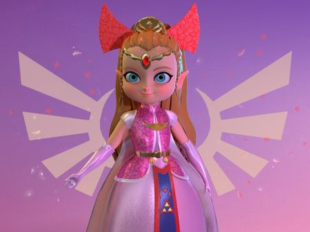 Zelda, the minish cap