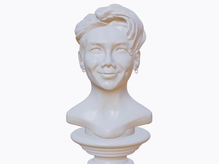 RM from BTS Greek Bust