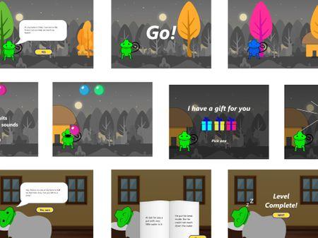 Telescope - A game to detect dyslexia