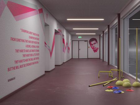 Purple Corridor