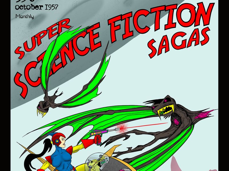 This Portfolio is all about Science Fiction