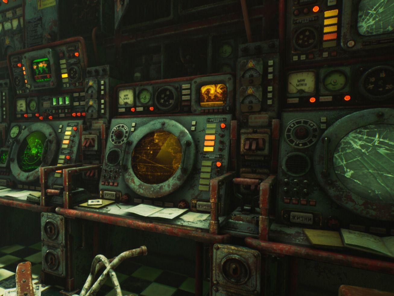 Soviet Nuclear Radar Bunker - UE4 Game Environment Diorama