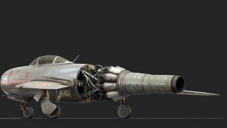 MiG 15 Bis fighter jet