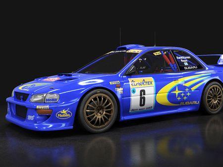 Subaru WRC STI '99 monte carlo s5