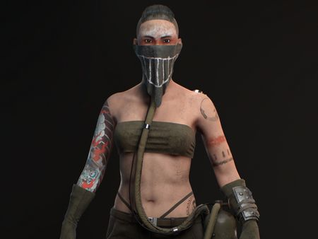 Cyberpunk Chick