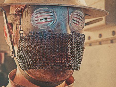 WW1 Tanker Mask (Weekly CG Challenge #129)