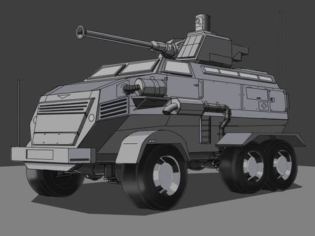 MRAP Vehicle design
