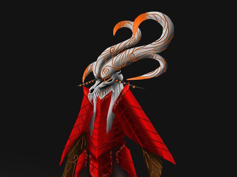 Grand Warrior character design