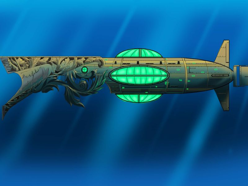 20,000 Leagues under the sea, The Nautilus redesign