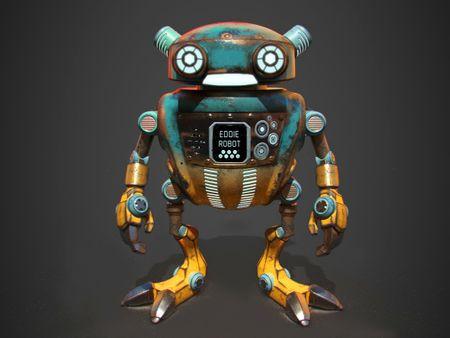 Eddie Robot!