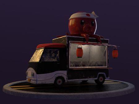 Takoyaki Food truck
