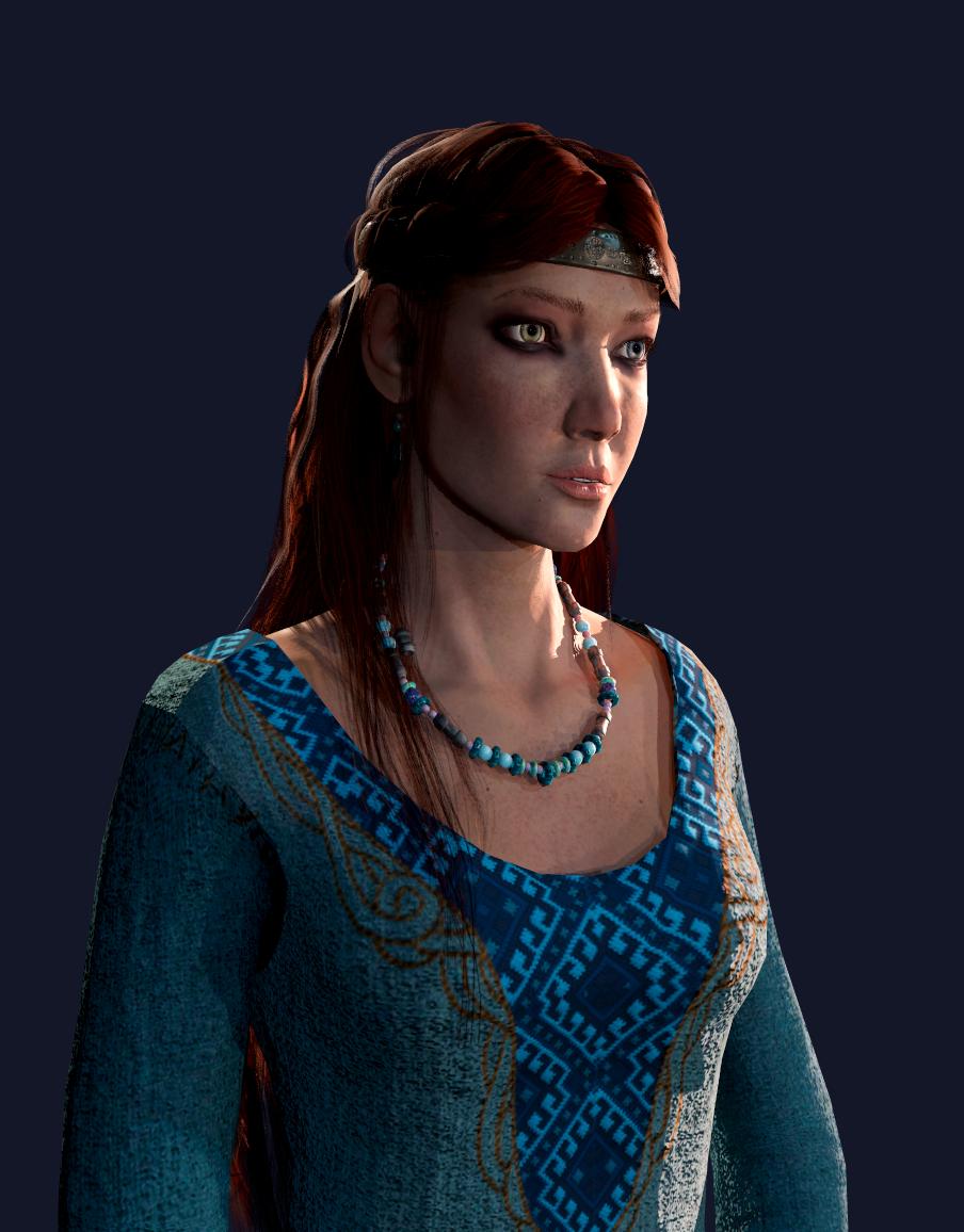 The viking lady