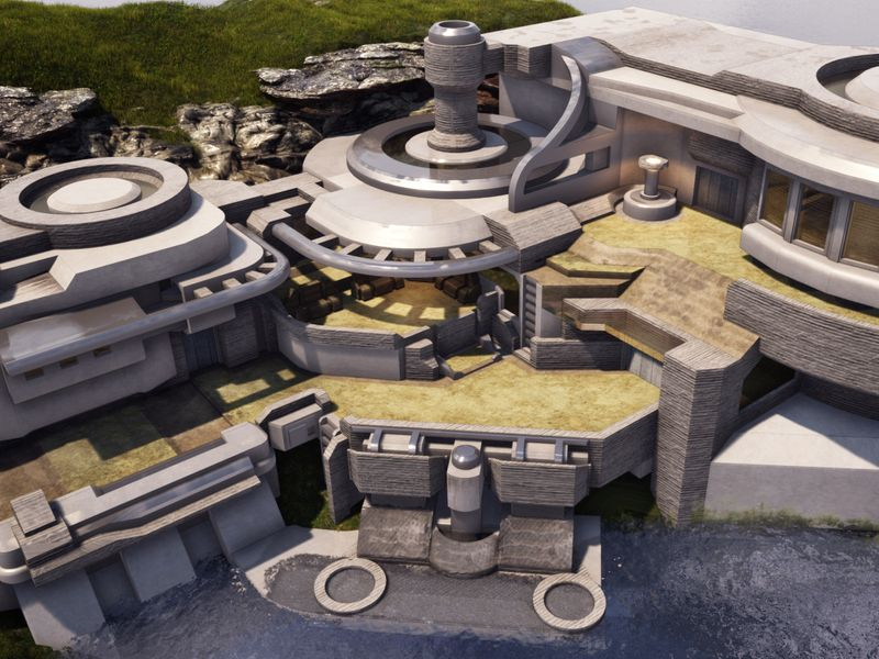 Scifi house concept