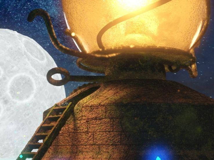 Old lantern lightouse