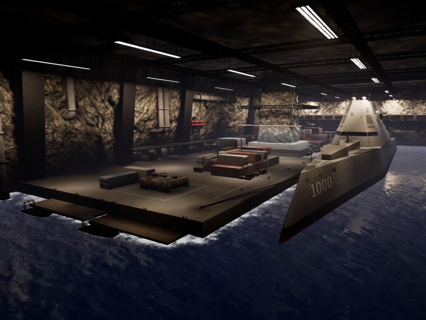 Top Secret Military Base