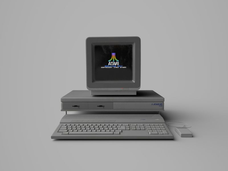 Atari ST 520 - Prop Design
