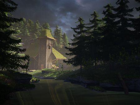 Fredrik Bohlin 3D Environment