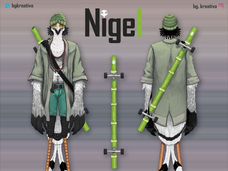 Nigel - Character design