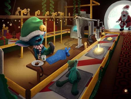 S.A.G.W.A.L. - Santa's Automated Gift Wrapping Assembly Line