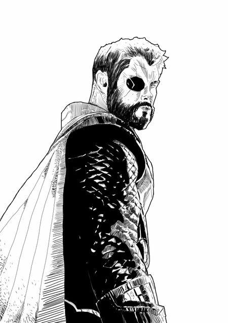 Fan art Thor