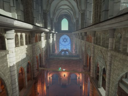 Cathedral - Unreal Tournament level