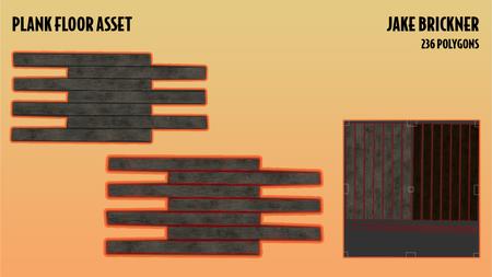 Plank Floor Asset