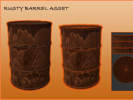 Rusty Barrel Asset