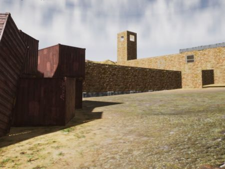Desert Military Level (Progress) 2
