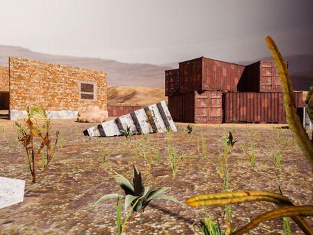 Arid Wasteland - Final Level
