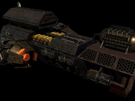 Grungy Space Ship