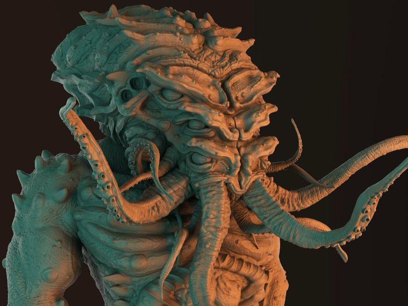 Cthulhu Concept Sculpt