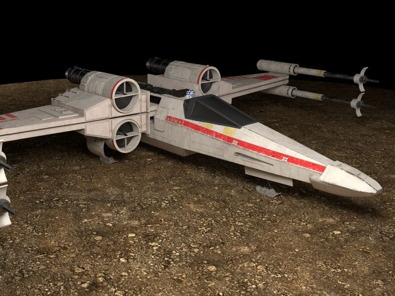 X-Wing Animation Project