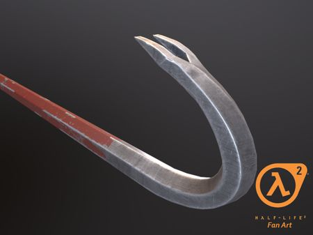 Crowbar (Half Life 2) Fan art